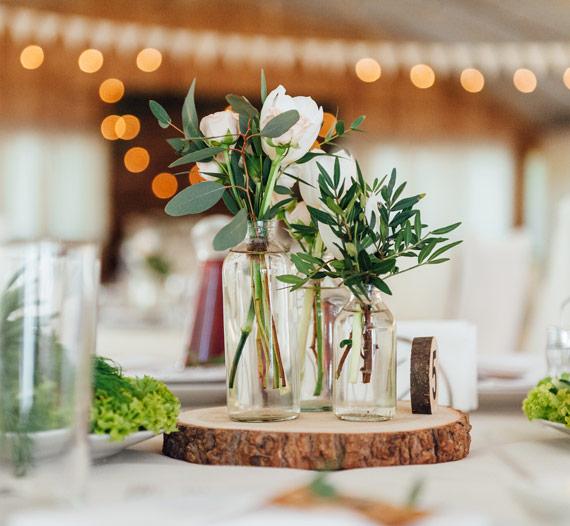Natural Flowers Wedding